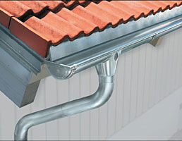 Steel Seamless Gutters