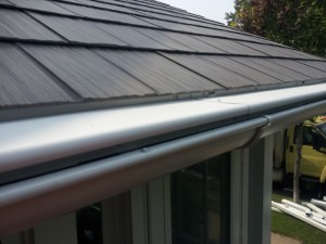 Storm Gutters After Replacement   Gutters MN