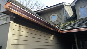 Copper Gutter Installer Minnesota