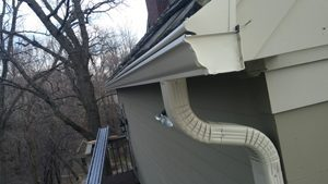 Gutter Downspout Replacement in St. Paul