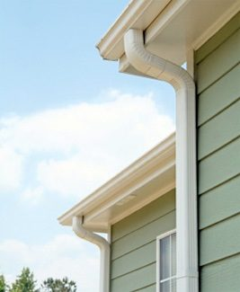 How many downspouts does a gutter need?