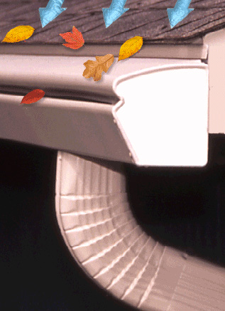 Leaf Proof Gutters to Prevent Ice Dams