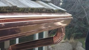 Steel Gutter Option