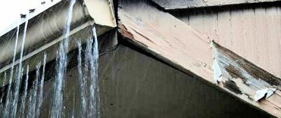 Wet Basements Due to Bad Gutter Installation
